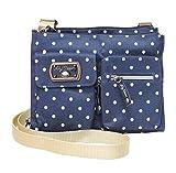 Lily Bloom Regina Crossbody Bag, (Polka Dots)