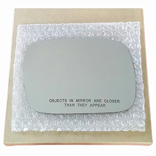 Mirror Glass and ADHESIVE | 1997 - 2001 Jeep Cherokee (Down Size Model) SUV Pasenger Right Side Replacement - DOES NOT FIT GRAND CHEROKEE MODEL