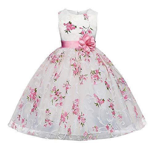 Abito da bambina vintage floreale HAPPY ROSE