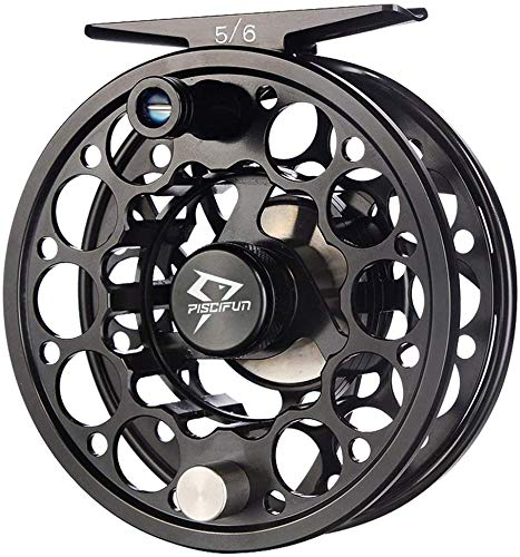 Piscifun Sword Fly Fishing Reel with CNC-machined Aluminum Alloy Body 3/4,...