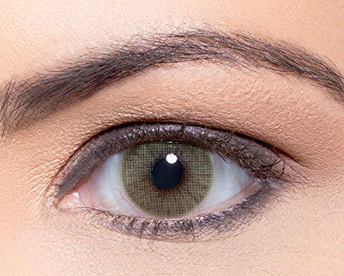 """Solotica - Natürliche farbige Jahreslinsen (stark deckend) ohne Stärke in Farbe """"Mel"""