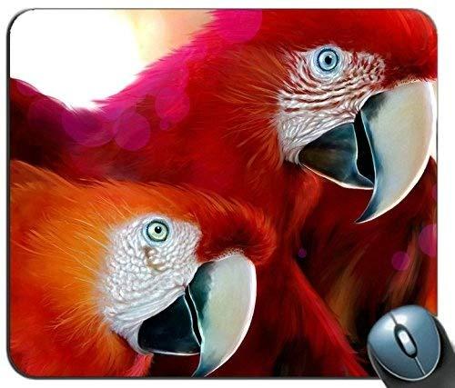 Mauspad, Papagei Kundenspezifische Mauspad Rechteck Mauspad Gaming Mauspad