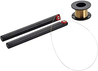 MMOBIEL Molybdenum Cutting Wire Gold 0.08mm 100m/329ft for LCD Front Glass Seperation with Handle Dissection Sticks