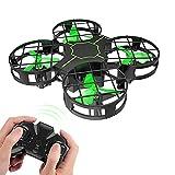 GAOFQ Mini Drone, Nano Quadcopter, para Principiantes Niños y niñas Adultos A Prueba de choques Una tecla Despegue Aterrizaje Spin Flips RC Drones Juguetes voladores