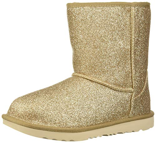 Stride Rite Girls' Soft Motion Sophie Fashion Boot, Light Gold, 4 W US Toddler