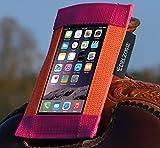 [page_title]-Westernsattel-Handytasche Orange-Pink