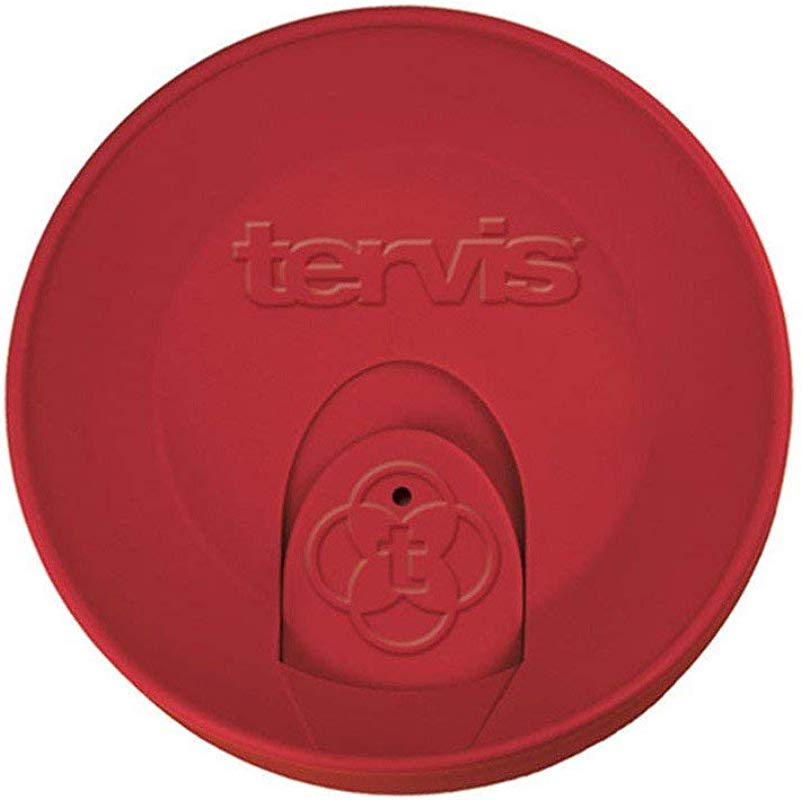 Tervis Red Travel Lid For Tervis 16 Ounce Tumbler