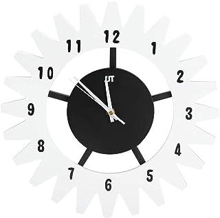 ساعة حائط مزخرفة بسيطة ، ساعة حائط اسكندنافية بسيطة حديثة والعتاد ساعة كتم الصوت والمكتب والمنزل وغرفة النوم