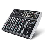 Best Mixer For Karaokes - Professional Audio Mixer XTUGA MX12 12 Channels 3-B Review
