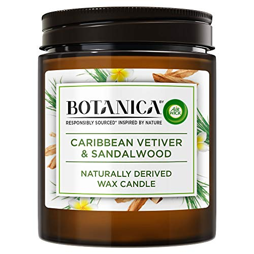 Botanica by Air Wick 3114466 Kerze, 1x Candle, Stück: 1