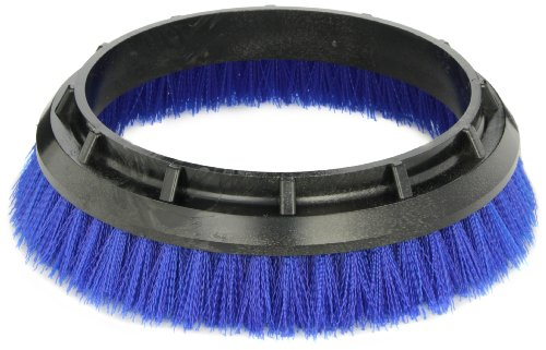 "Oreck Commercial 237058 Crimped Polypropylene Scrub Orbiter Brush, 10.5"" bristle to bristle outer dimensions, Blue, For ORB550MC Orbiter Floor Machine"