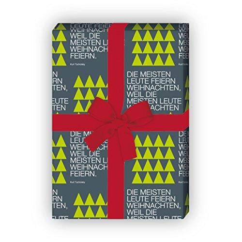 Tucholsky Weihnachts-Geschenkpapier Set - 4