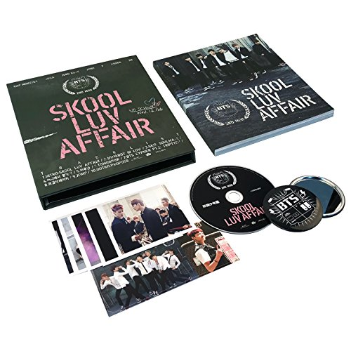 BTS 2nd Mini Album - [ Skool Luv Affair ] CD + Photobook + Photocard + FREE GIFT / K-POP Sealed