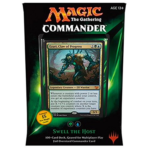 MTG Commander 2015 Edition Magic the Gathering - Swell the Host Green Blue Deck New Sealed by Magic: the Gathering