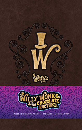 Willy Wonka Hardcover Ruled Journal (Classics)
