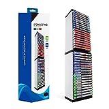 AOIXBCUROC Tour de rangement pour 36 disques de jeu pour P-S-4 P-S-5 Switch X-b-o-x One