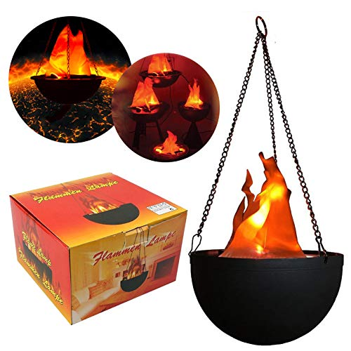 Flame Light Burning Torch 4-in-1 Battery Operated Fake Fire ...