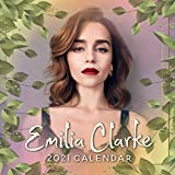 Emilia Clarke 2021 Calendar: Emilia Clarke 2021 Calendar, 8.5 x 8.5 Inch Monthly View, 12-Month, Actress Celebrity