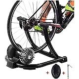 HAOT Entrenador de Bicicleta Soporte Entrenador Estable para Montar en Bicicleta Plegable con Dispositivo de Resistencia hidráulica para Bicicletas de Carretera y montaña