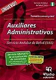 Auxiliares Administrativos del SAS. Temario común y test (Oposiciones)