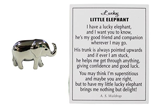 Ganz Lucky Little Elephant Charm with Story Card!