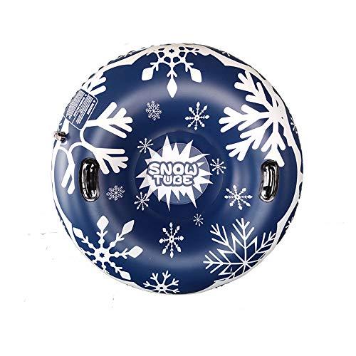 47' Inflable Nieve Tubo Trineo para Niños y Adultos, JanTeelGO Tarea Pesada Trineo de Nieve con Asas, Antiarañazos, Juguetes de nieve gigantes para deportes de invierno