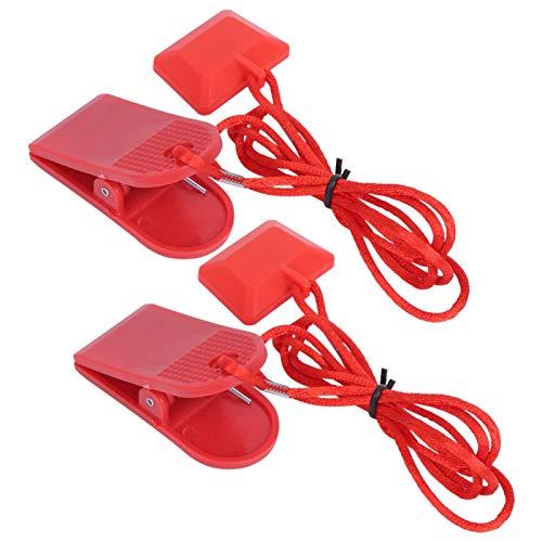 Phisscii Interruptor de Seguridad para Correr - Interruptor magnético Redondo con Material de imán ABS para Ejercicio en Cinta de Correr