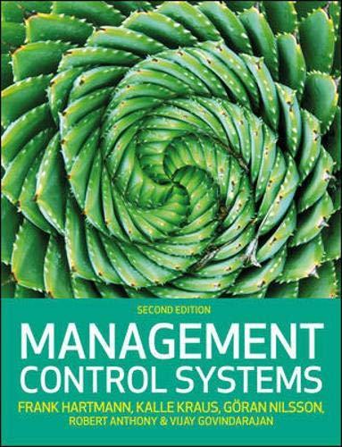 Management Control Systems, 2e