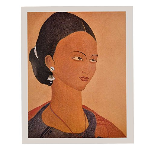 Indien étagère Papier Fait Main Abderrahmane Chughtai Travail Portrait/Impressions/Lithographs/décoration Murale Pt-267