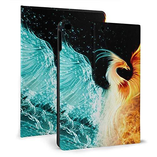 Fire Ice Phoenix Slim Lightweight Smart Shell Stand Cover Case for iPad air1/2 9.7' Generation,Auto Wake/Sleep