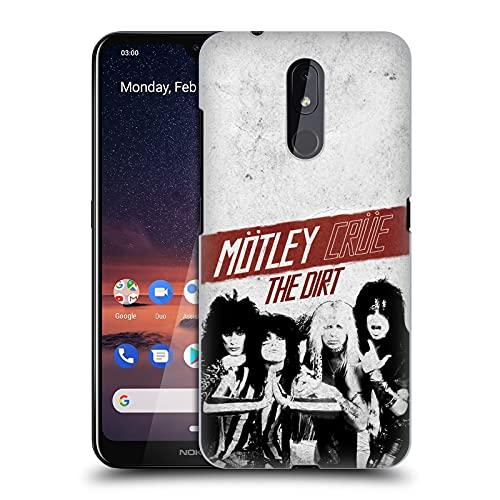 Head Case Designs Licenza Ufficiale Motley Crue The Dirt Arte Chiave Cover Dura per Parte Posteriore Compatibile con Nokia 3.2