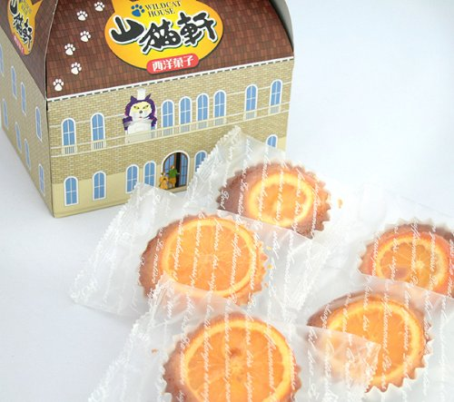 パティスリーアンジュ 山猫軒 (オレンジ焼き菓子) 5個入り