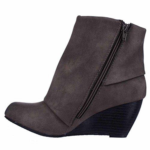American Rag Womens Coreene Closed Toe Ankle Fashion Boots, Taupe, Size 9.5...