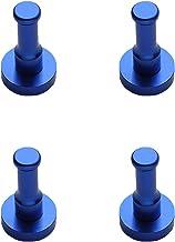 Vanlux Space Aluminium verfhaak met ronde vloerdeurhaak, multifunctionele haak kan worden gebruikt in keuken, slaapkamer, ...