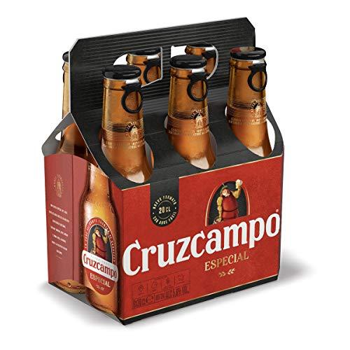 Cruzcampo Cerveza, 6 x 20cl