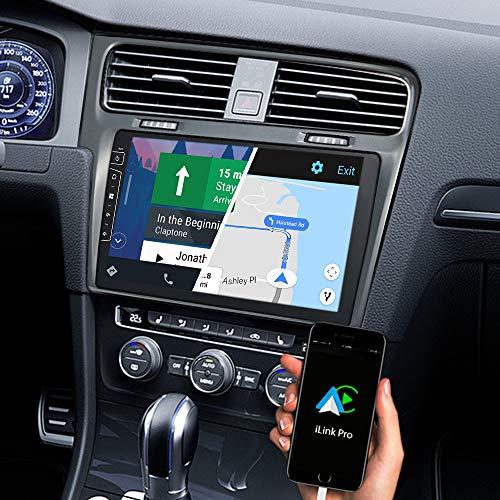 DYNAVIN Navigation Autoradio GPS pour VW Golf 7 Mk7: 10 Pouces Voiture Radio avec Dab+ Radio | BT | Caméra de recul prête | USB, Compatible avec CarPlay et Android Auto: DX-V-3S Flex