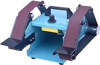 KKmoon 950W 110-230V Máquina lijadora multifuncional Lijadora de escritorio Doble eje Máquina lijadora de lijado