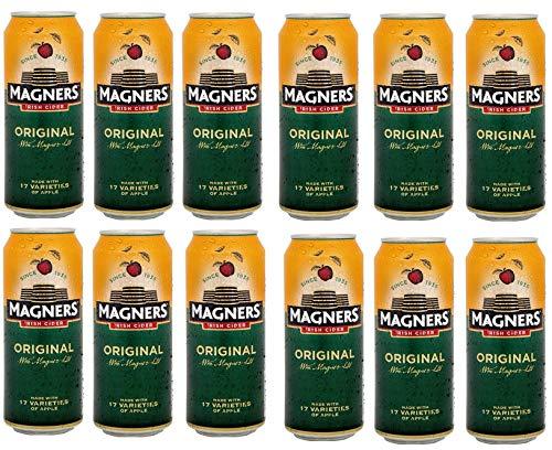 12 Dosen Magners Cider Irish Orginal a 0,5L Orginal 4,5% Appel Cider Apfel 500ml