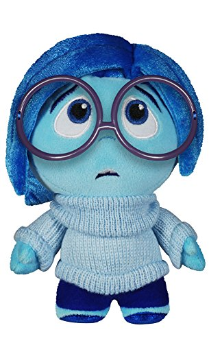 Funko - Peluche Disney - Inside Out Vice Versa Sadness Fabrikations 15cm - 0849803050597