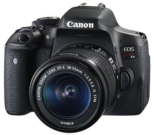 Canon デジタル一眼レフカメラ EOS Kiss X8i レンズキット EF-S18-55mm F3.5-5.6 IS STM 付属 KISSX8I-1855...