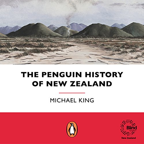 The Penguin History of New Zealand audiobook cover art