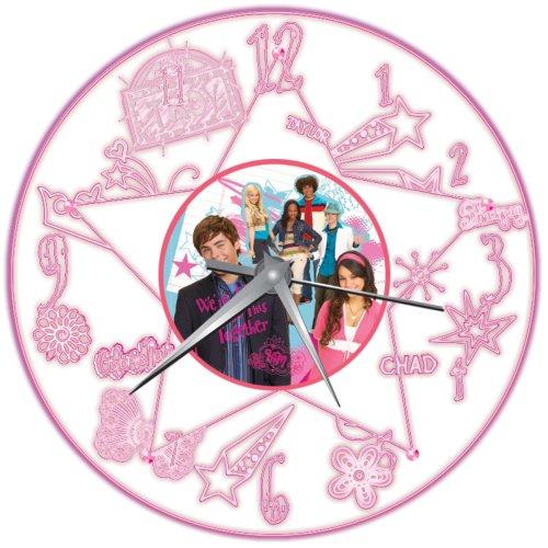 Wesco Disney High School Musical oplichtende wandklok
