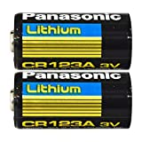 panasonic lithium battery cr 123a - Panasonic 30212 Lithium 3V Photo Lithium Battery cr123 (Double Pack)