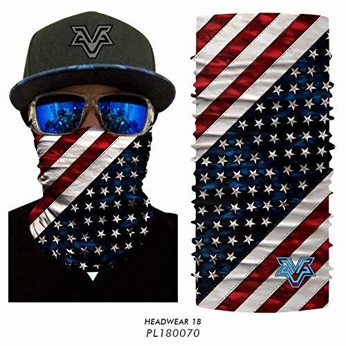 Starry Sky hoofddoek voor mannen en vrouwen, sjaal, bescherming mond en neus, vissen, masker, sjaal, fiets hals, warme nek, leggings, tuberiding sport hoofdtooi mannen (kleur: PL180070)