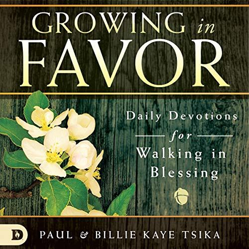 Growing in Favor audiobook cover art