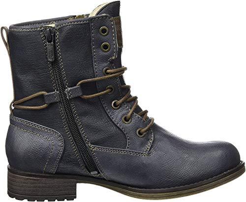 MUSTANG Damen 1139-629-800 Stiefel, Blau (Dunkelblau), 40 EU