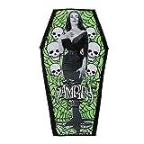 Kreepsville Official Vampira Coffin Beach Towel