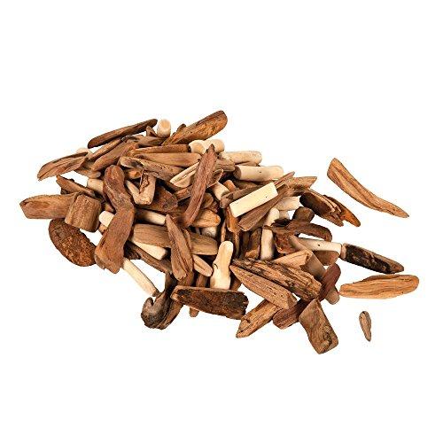 *Treibholz gemischt im Netz 1 kg – 6-12 cm Holzstückchen – Schwemmholz – maritime Dekoration*
