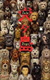 ISLE OF DOGS - 13.5'x20' Original Promo Movie Poster Wes Anderson 2018
