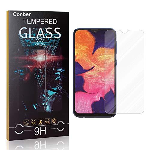 Conber [4 Stück] Displayschutzfolie kompatibel mit Samsung Galaxy A10, Panzerglas Schutzfolie für Samsung Galaxy A10 [9H Härte][Hüllenfreundlich]